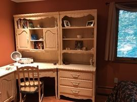 Bedroom Sets with Desk and Drawers  Furniture  Once and Again Consignment  Madison Montville NJ