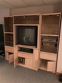 TV and Entertainment Center  Furniture  Once and Again Consignment  Madison Montville NJ