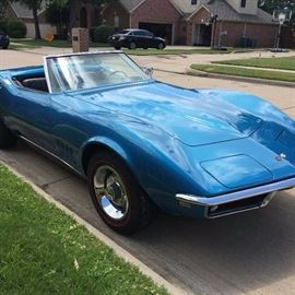 1968 Convertible Corvette - Only 40,295 Miles on this Beauty !!!  See info in listing below.