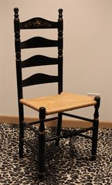 hitchcock ladder back chair