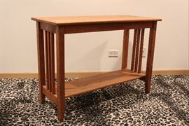 mission style sofa table