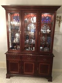 Pennsylvania House china hutch, very nice