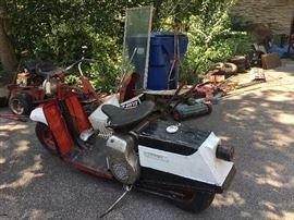 Yamaha Chappy motor scooter!
