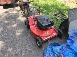 Toro rear bagger lawn mower!