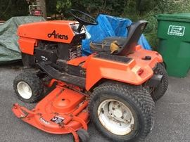 Ariens lawn tractor!