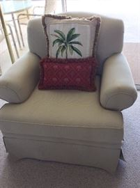 Ashley Furniture upholstered chair.