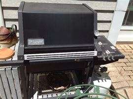 Weber grill with tank...$50 and available presale