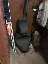 New Harley motorcycle seat