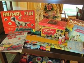 More vintage toys and games