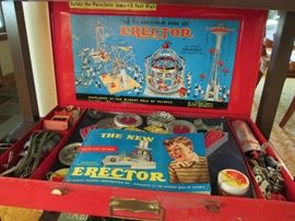 Erector set in great condition