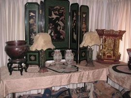 Asian antique objects Chines/Japanese