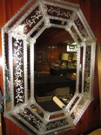 Murano Glass Large Wall Mirror, Just gorgeous!