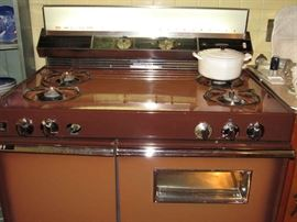 Just added to sale, 1960's Stove in great condition!  So Cool!