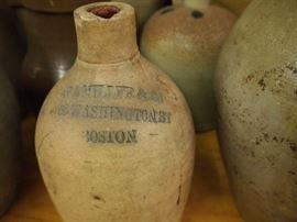 8.11 Boston stoneware jug