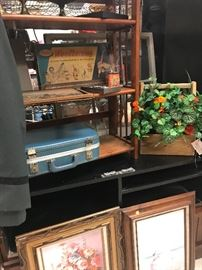 all types of vintage luggage and collections