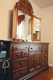 Mahogany Dresser with Mirror