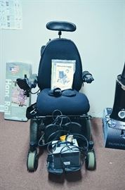 Quantum 600 Motorized Wheelchair