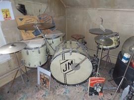 1940's Slingerland Drum Set