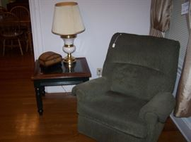Recliner, there are 2 alike
