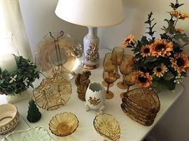 amber glassware