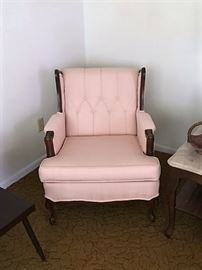pair of French Provincial chairs