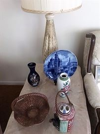 oriental and blue and white decorative accessories