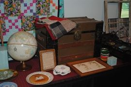 Nice selection of antiques/ collectibles