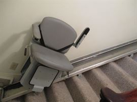 Electric stair chair lift