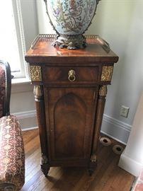 Maitland-Smith Tall Pedestal Cabinet