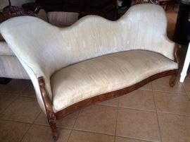 19th century sofa from the Astor estate on Sanibel