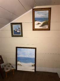 Original seascape artwork