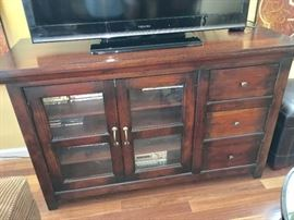 Crate and Barrel TV Console