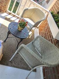 Crate and Barrel patio furniture