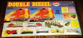 Double Diesel Train Set, Unopened, Model No. 1061