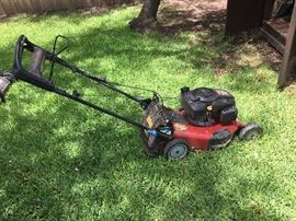 There will be two lawnmowers in the sale