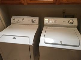 Maytag Washer/Dryer combination.