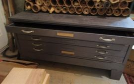 """document cabinet for contractors, artists 42"""" wide, 39"""" deep, 26"""" high"""