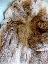 A VERY SOFT AND PRETTY COYOTE JACKET