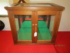 Oak Display Case