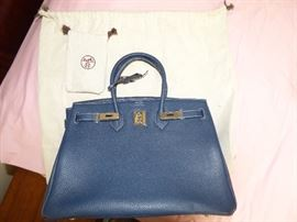 Hermes Birkin handbag with coa