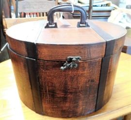 Antique Hat Box