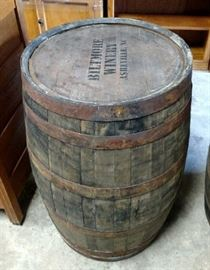 2 of 2 Wine Barrel