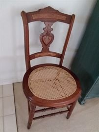 Antique Canned Chair
