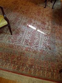 "Living room Karastan rug, 121"" x 170"" (Not counting fringe). ****Living room rug can not be picked up until Sunday*****"