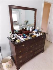Craftique Dresser with Mirror