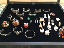 Jewelry and Miniature pottery