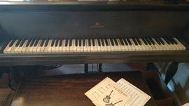 Baby Grand Piano by Kurtzmann