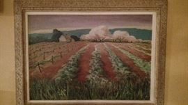 Interesting and beautiful John Swalley painting