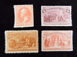 At 2PM: Large, Multi-Estate Stamp Collection, featuring U.S. & International Stamps from the 1800s - Present.