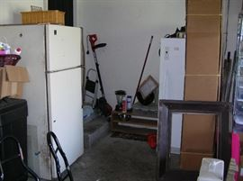 Freezer and fridge for sale